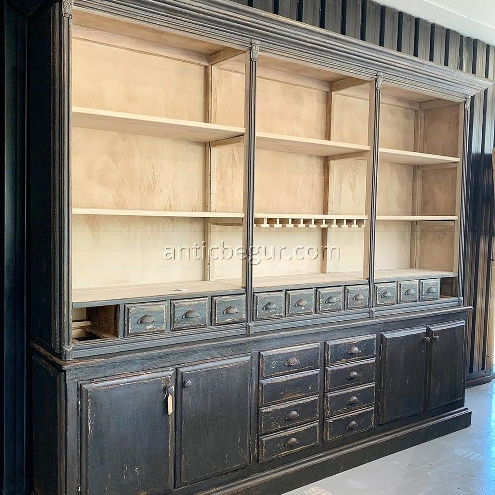 Librerias y vitrinas ANTIC BEGUR