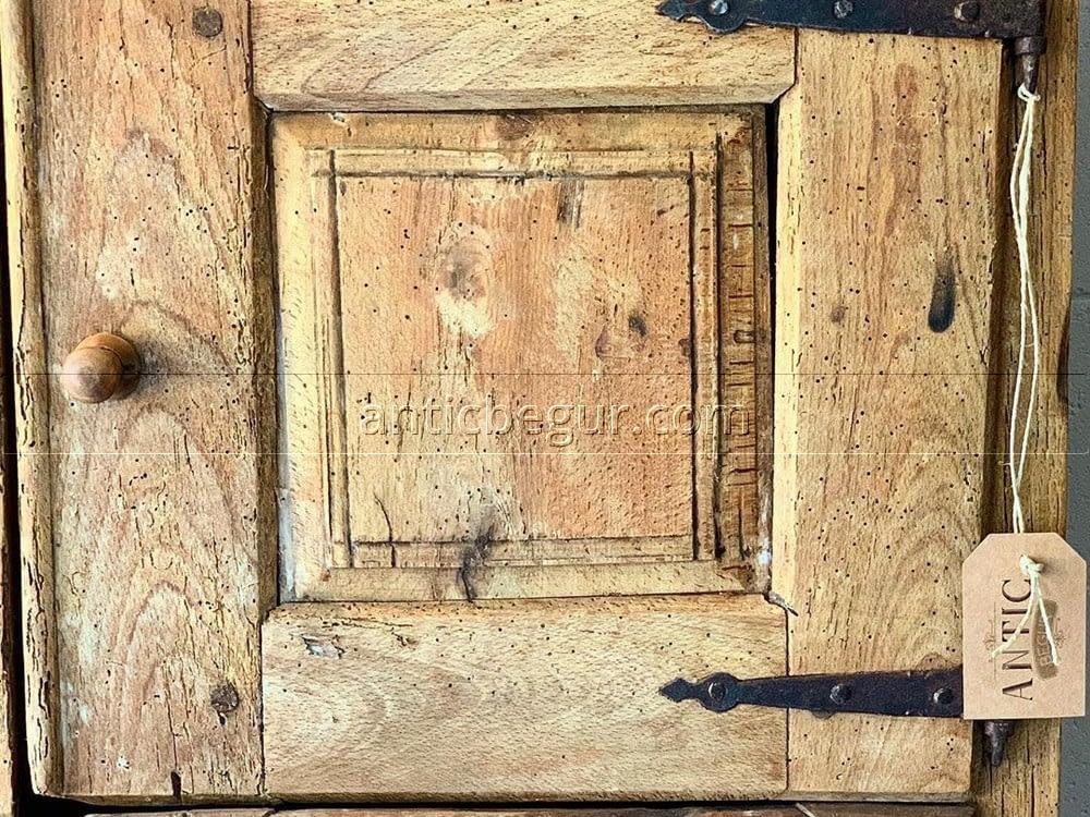 Armarios madera maciza recuperada ANTIC BEGUR