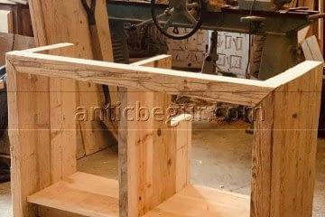 Muebles artesanales de madera maciza a medida