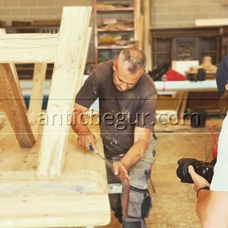 Muebles a medida madera roble o pino recuperada Antic Begur