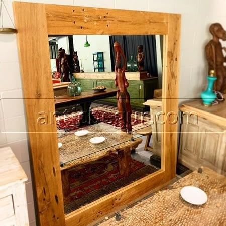 Espejos madera maciza recuperada Antic Begur