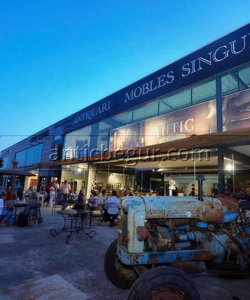 Inauguración tienda ANTIC BEGUR