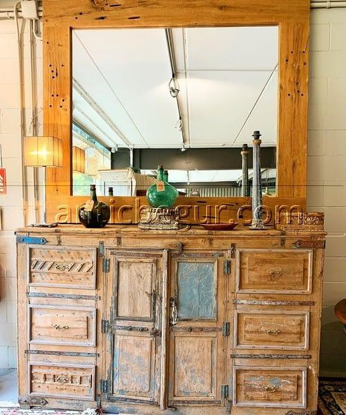 aparadores y cómodas madera restaurada maciza Antic Begur