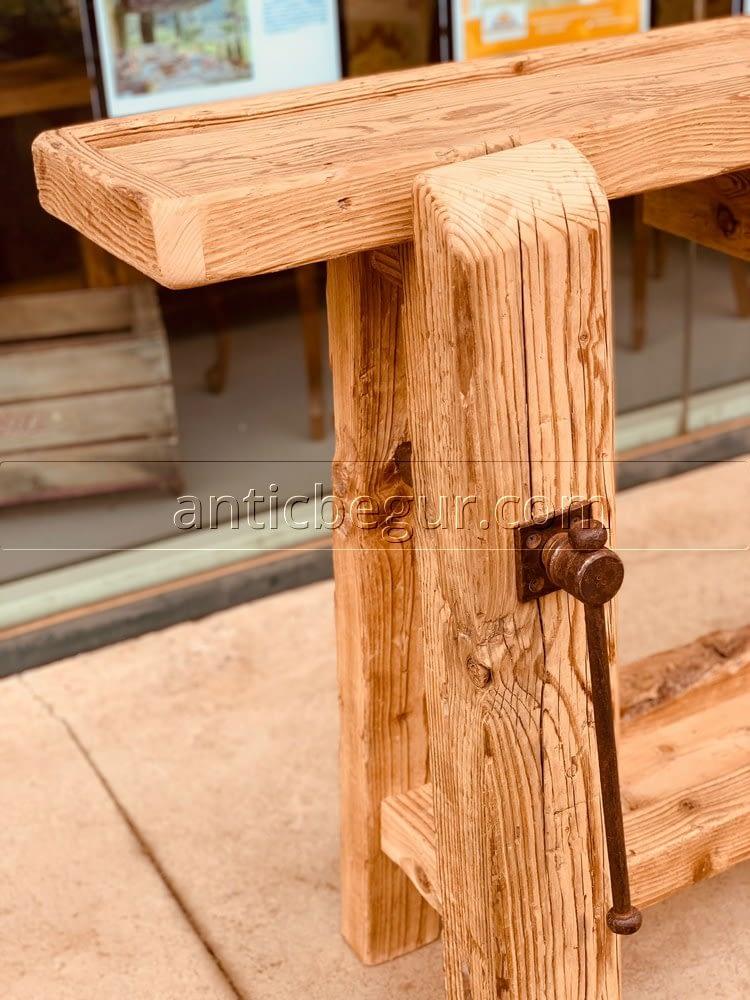tu banco de madera a medida