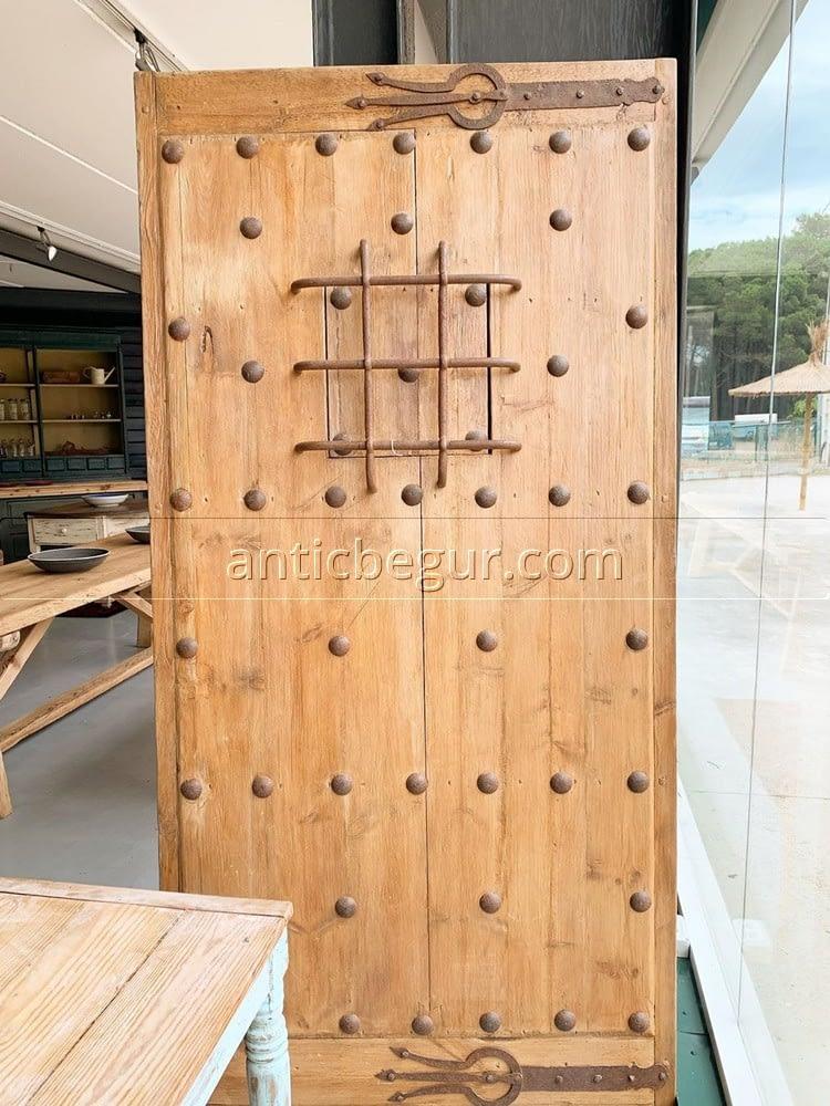 puertas antiguas recuperadas madera maciza