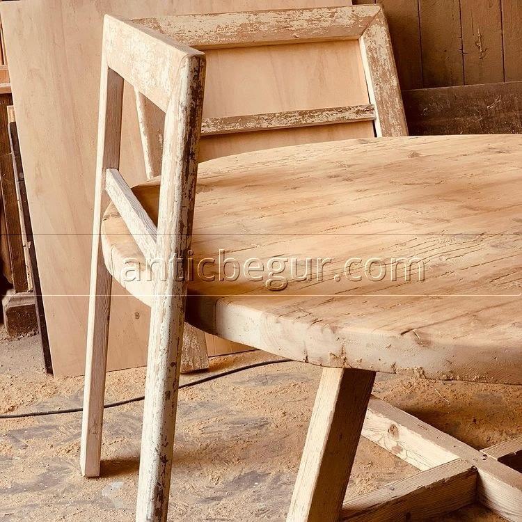 Cabeceros rústicos madera recuperada